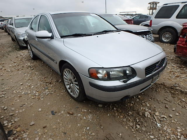 2002 volvo s60 2 4t for sale tx dallas salvage cars. Black Bedroom Furniture Sets. Home Design Ideas