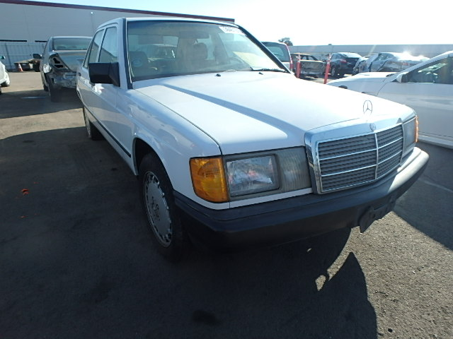 Auto auction ended on vin wdbda28d9jf526366 1988 mercedes for 1988 mercedes benz 190e