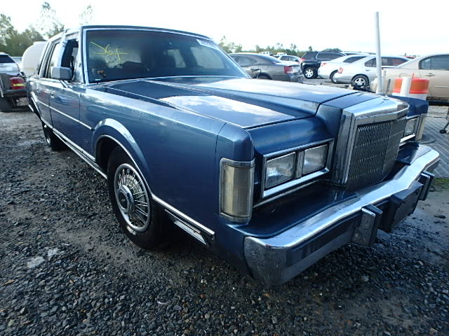 Auto Auction Ended On Vin 1lnbm81f4jy714422 1988 Lincoln Towncar In