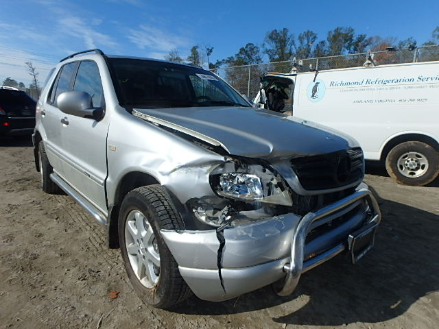 Auto auction ended on vin 4jgab72e9ya150187 2000 mercedes for Mercedes benz ml430 for sale