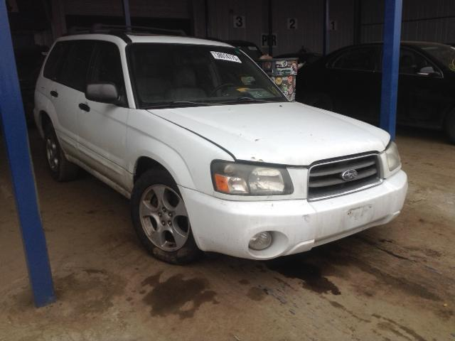 JF1SG65644H758070 - 2004 SUBARU FORESTER 2