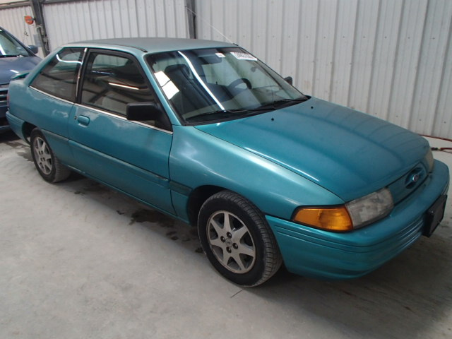 3FASP11J4TR100761 | 1996 green Ford Escort Lx on Sale in ...