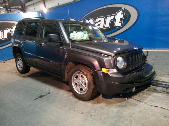 1C4NJPBB3FD349102 - 2015 JEEP PATRIOT SP