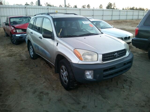 Salvage 2001 Toyota RAV4 for sale