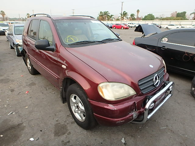 Auto auction ended on vin 4jgab54exwa048489 1998 mercedes for 1998 mercedes benz ml320