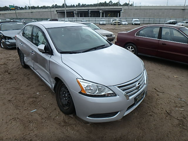 3N1AB7APXEY208969 - 2014 NISSAN SENTRA S/S