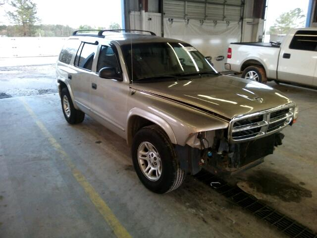 1B4HR48N22F128317 - 2002 DODGE DURANGO