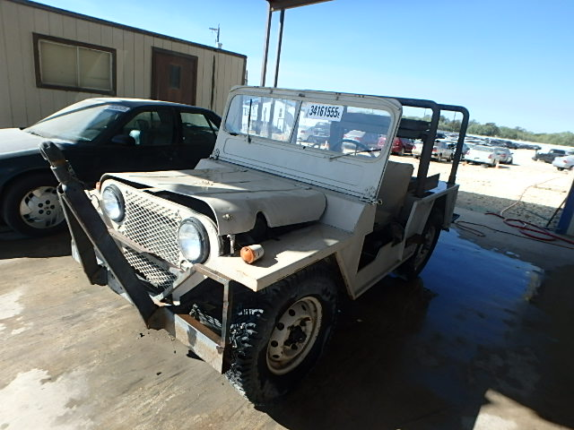 2P6132 - 1967 Ford Jeep Right View
