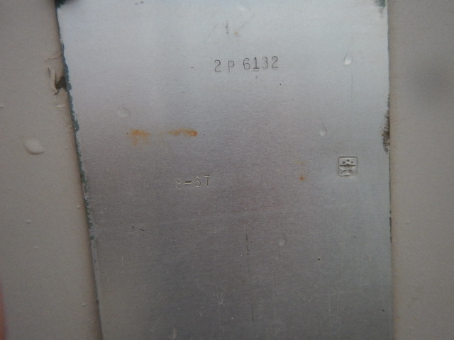 2P6132 - 1967 Ford Jeep engine view