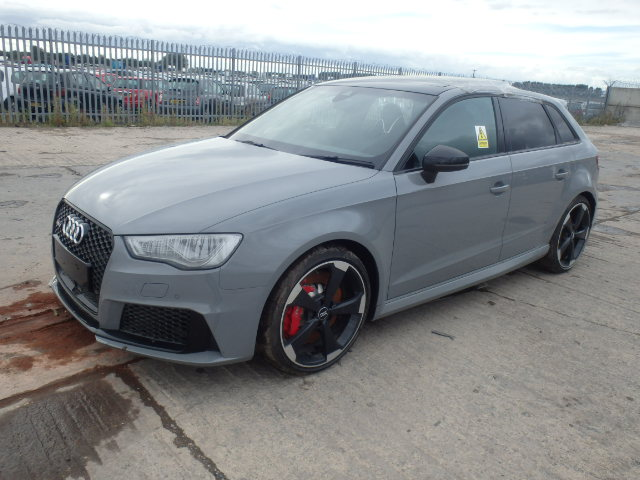 2015 audi rs3 nav qu for sale at copart uk salvage car auctions. Black Bedroom Furniture Sets. Home Design Ideas