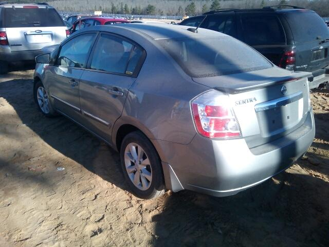 3N1AB6APXCL691884 - 2012 NISSAN SENTRA/S/S
