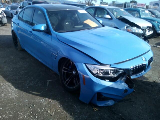 BMW M For Sale CA SAN JOSE Salvage Cars Copart USA - Bmw 2015 m3 for sale