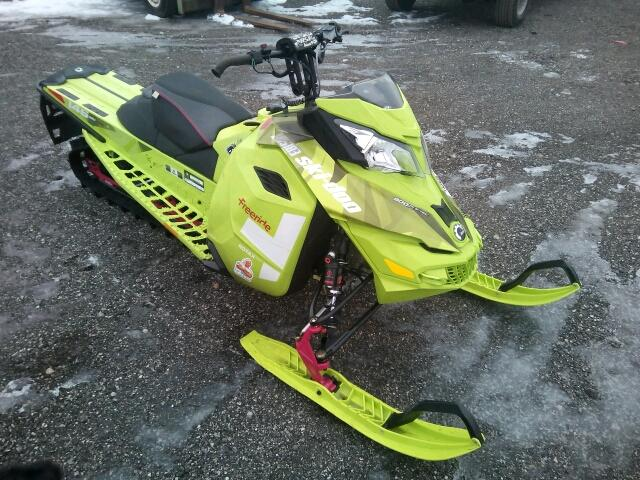 Salvage S | 2015 Skid Snowmobile