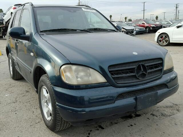 Auto auction ended on vin 4jgab72e2xa070602 1999 mercedes for Mercedes benz ml430 for sale