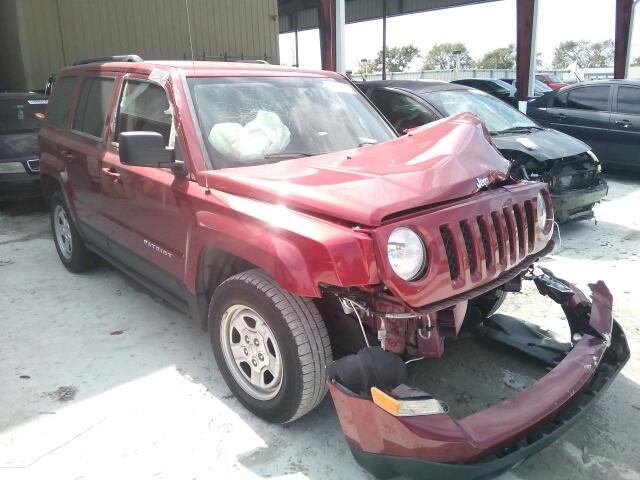1C4NJPBA4DD234948 - 2013 JEEP PATRIOT SP