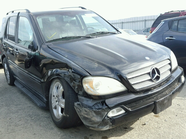 Auto auction ended on vin 4jgab57e75a566585 2005 mercedes for 2005 mercedes benz ml350 for sale