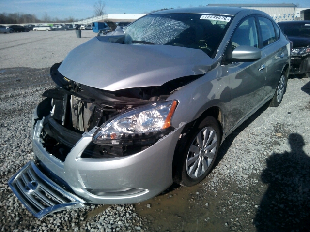 3N1AB7AP1EY247580 - 2014 NISSAN SENTRA S/S 1.8L Right View