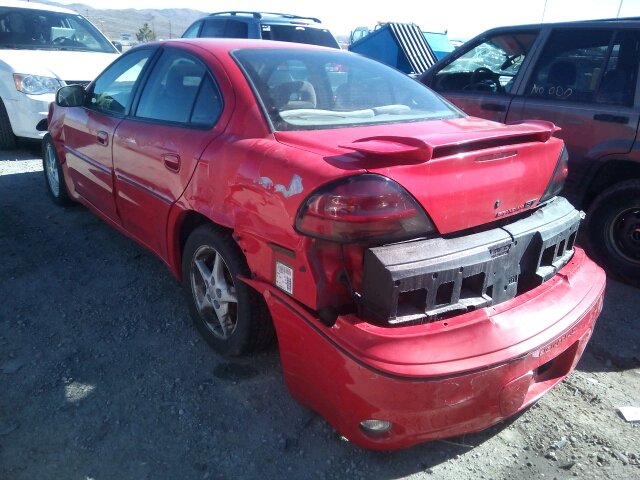 2001 PONTIAC GRAND AM G