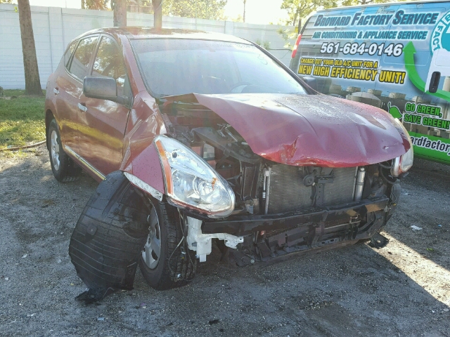 JN8AS5MT8BW155481 - 2011 NISSAN ROGUE S/SV