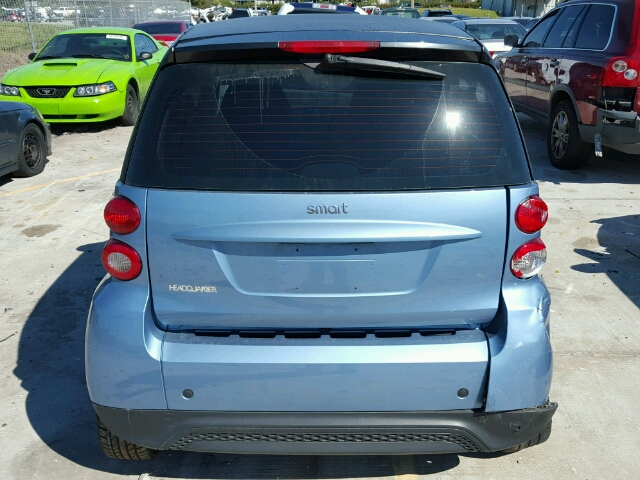2013 SMART FORTWO PUR 1.0L
