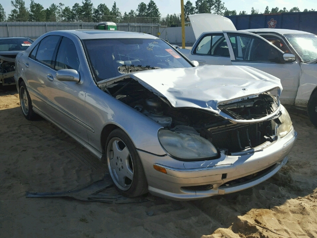 Auto auction ended on vin wdbng70jx1a179886 2001 mercedes for 2001 mercedes benz s430