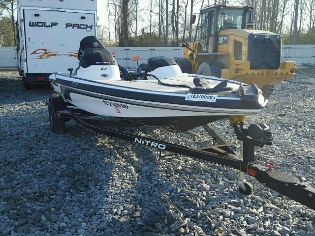 Salvage 2015 Nitrous BOAT for sale