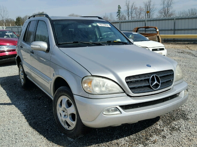 Auto auction ended on vin 4jgab54e13a391610 2003 mercedes for 2003 mercedes benz ml320