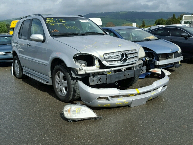 Auto auction ended on vin 4jgab57e95a566488 2005 mercedes for 2005 mercedes benz ml350 for sale