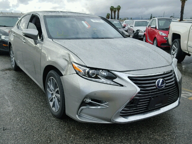 auto auction ended on vin jthbw1gg3g2115401 2016 lexus es 300h in ca van nuys. Black Bedroom Furniture Sets. Home Design Ideas