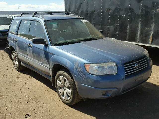 JF1SG63678H703931 - 2008 SUBARU FORESTER 2