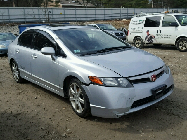 2008 honda civic si for sale ma south boston salvage. Black Bedroom Furniture Sets. Home Design Ideas