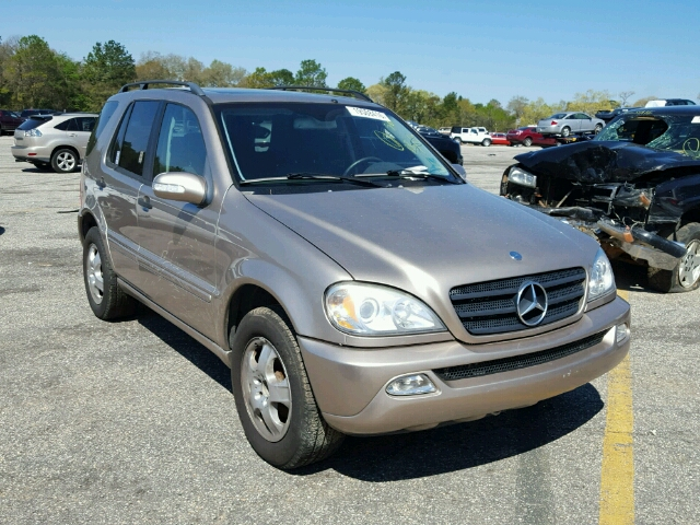 Auto auction ended on vin 4jgab54ex3a387040 2003 mercedes for Mercedes benz mobile alabama