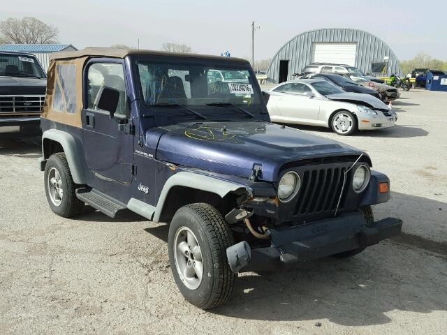 auto auction ended on vin 1j4fy29p1wp752606 1998 jeep wrangler s in ks wichita. Black Bedroom Furniture Sets. Home Design Ideas