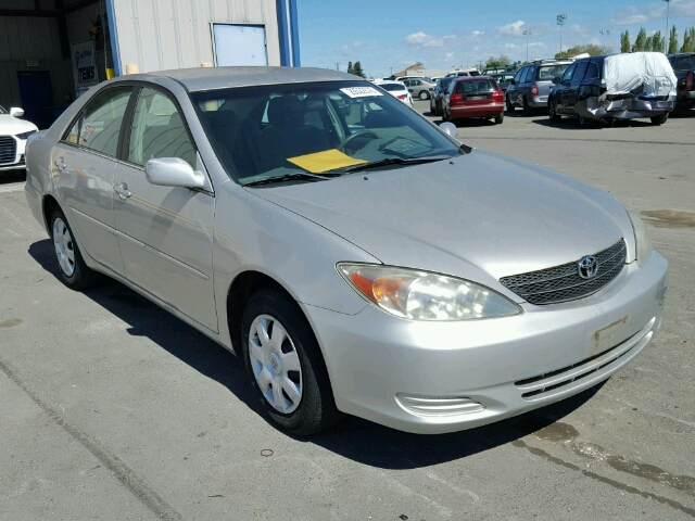 auto auction ended on vin 4t1be32k32u117296 2002 toyota camry le x in ca vallejo. Black Bedroom Furniture Sets. Home Design Ideas
