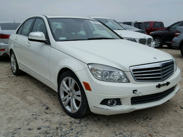 Auto auction ended on vin wddgf81x98f146225 2008 mercedes for Mercedes benz service b cost c300