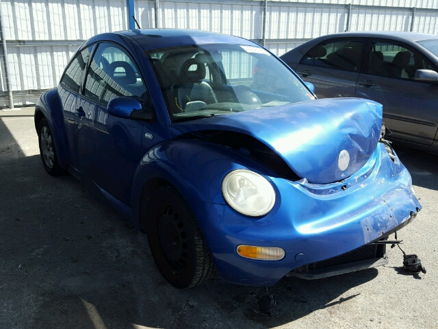 3VWCK21CX2M443619 - 2002 VOLKSWAGEN NEW BEETLE