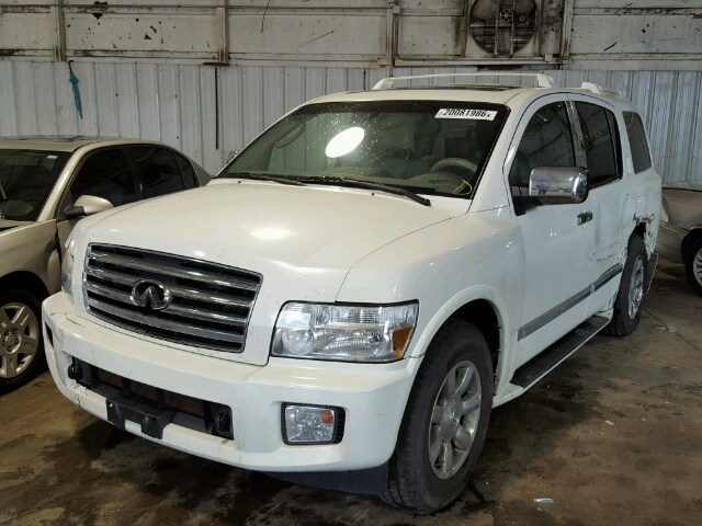 2006 infiniti qx56 photos salvage car auction copart usa. Black Bedroom Furniture Sets. Home Design Ideas