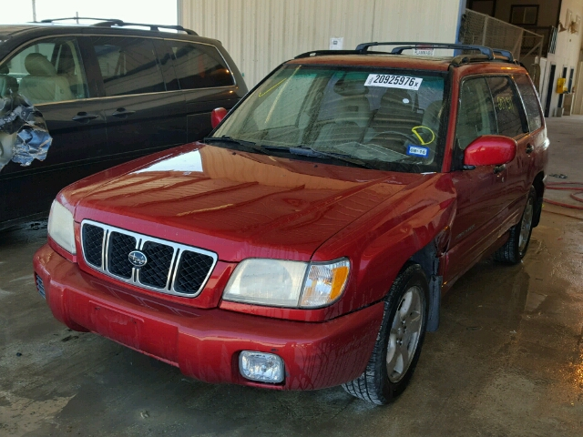 JF1SF65641H737914 - 2001 SUBARU FORESTER S