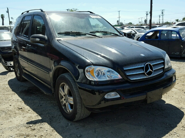 Auto auction ended on vin 4jgab57e35a558547 2005 mercedes for 2005 mercedes benz ml350 for sale