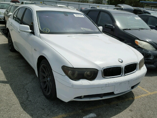 Auto Auction Ended On VIN WBAGLDP BMW I In CA - 2003 bmw 740li