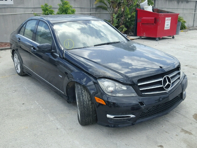 Auto auction ended on vin wddgf4hb9cr227350 2012 mercedes for Mercedes benz repair miami fl