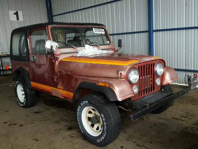 Auto Auction Ended On Vin 1jccf87e1ft176945 1985 American