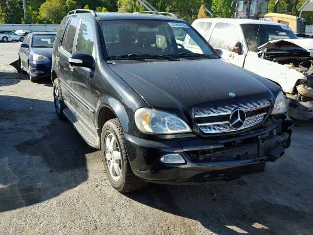 Auto auction ended on vin 4jgab57e43a418911 2003 mercedes for Mercedes benz 2003 ml350