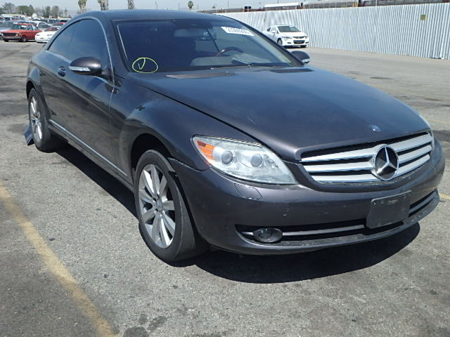 Auto auction ended on vin wddej71x07a001912 2007 mercedes for 2007 mercedes benz cl550 for sale