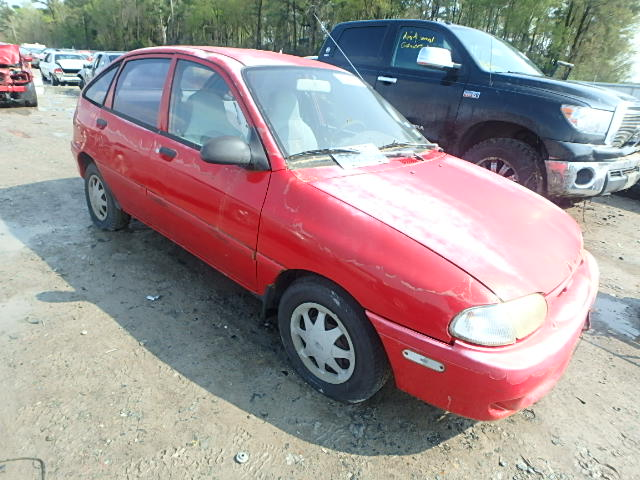 1997 ford aspire for sale tx houston salvage cars. Black Bedroom Furniture Sets. Home Design Ideas
