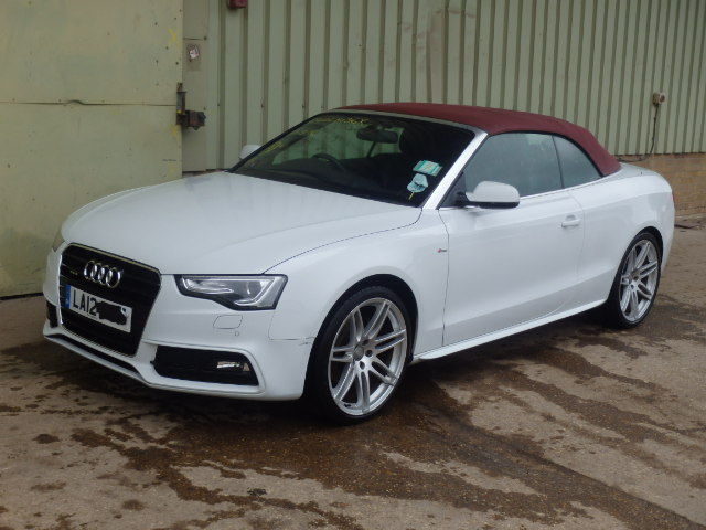 2012 audi a5 s line for sale at copart uk salvage car auctions - 2012 audi a5 coupe for sale ...