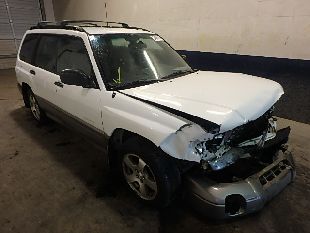 JF1SF6552WH771221 - 1998 SUBARU FORESTER