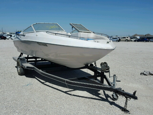Salvage 1996 Chris Craft BOAT+TRAIL for sale