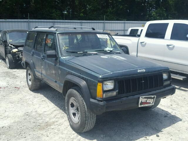 1J4FT68S2PL597973 - 1993 JEEP CHEROKEE S 4.0L Left View