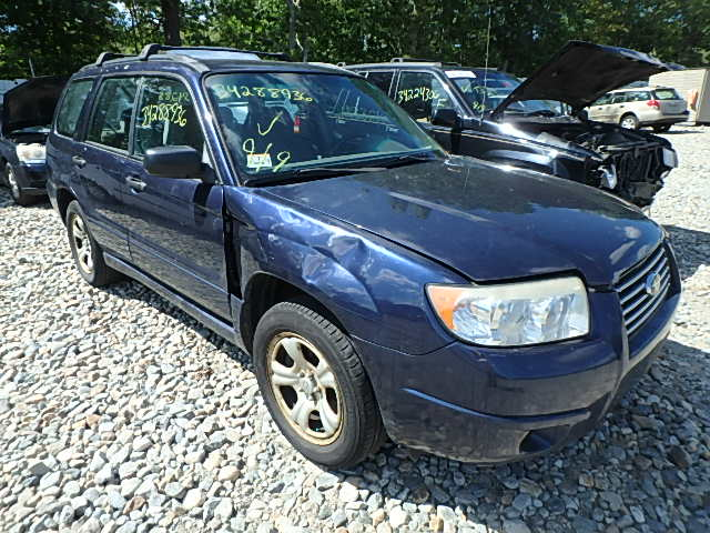 JF1SG63696H748978 - 2006 SUBARU FORESTER